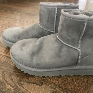 Dark Gray UGG Classic Mini Boot